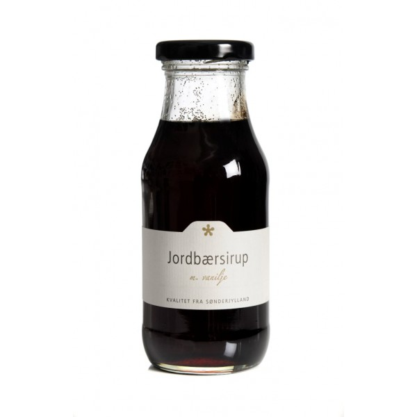 jordbaer-sirup-300g-flaske